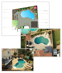 A pool company that offers custom pool designs