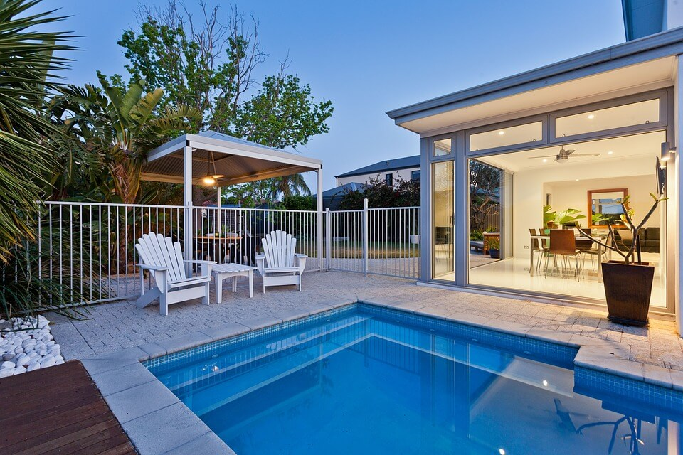 Inground pools can be customized to fit in even the smallest backyards, letting you enjoy a refreshing soak.